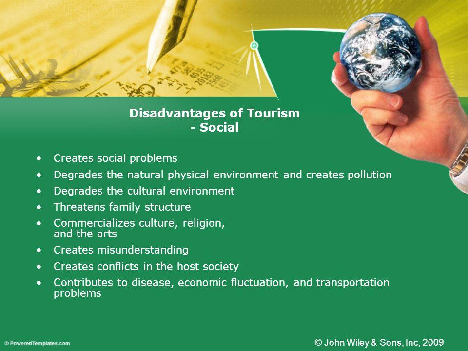 Disadvantages of Tourism - Social