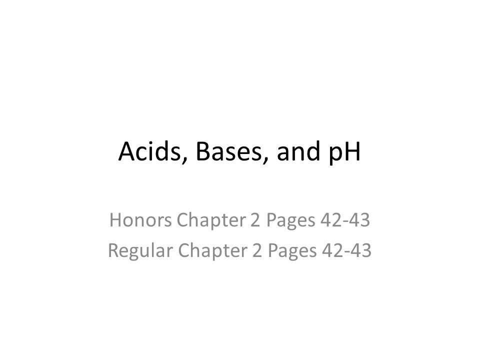 Honors Chapter 2 Pages 42-43 Regular Chapter 2 Pages 42-43