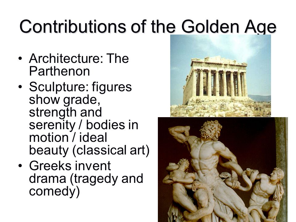 Contributions of the Golden Age