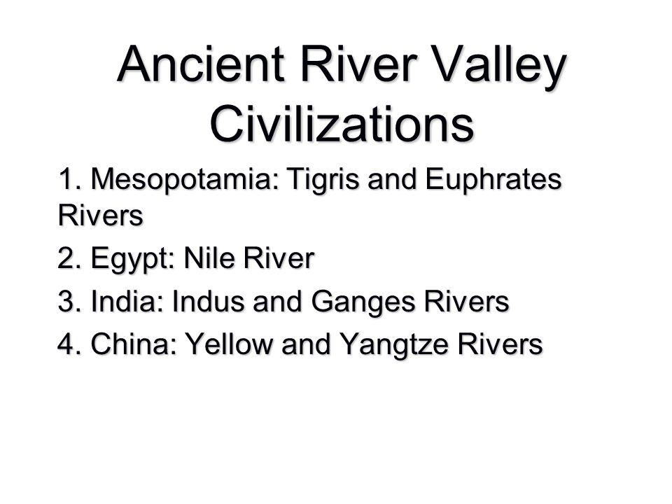 Ancient River Valley Civilizations