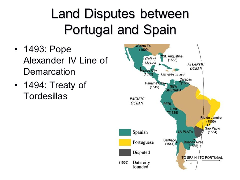 Land Disputes between Portugal and Spain