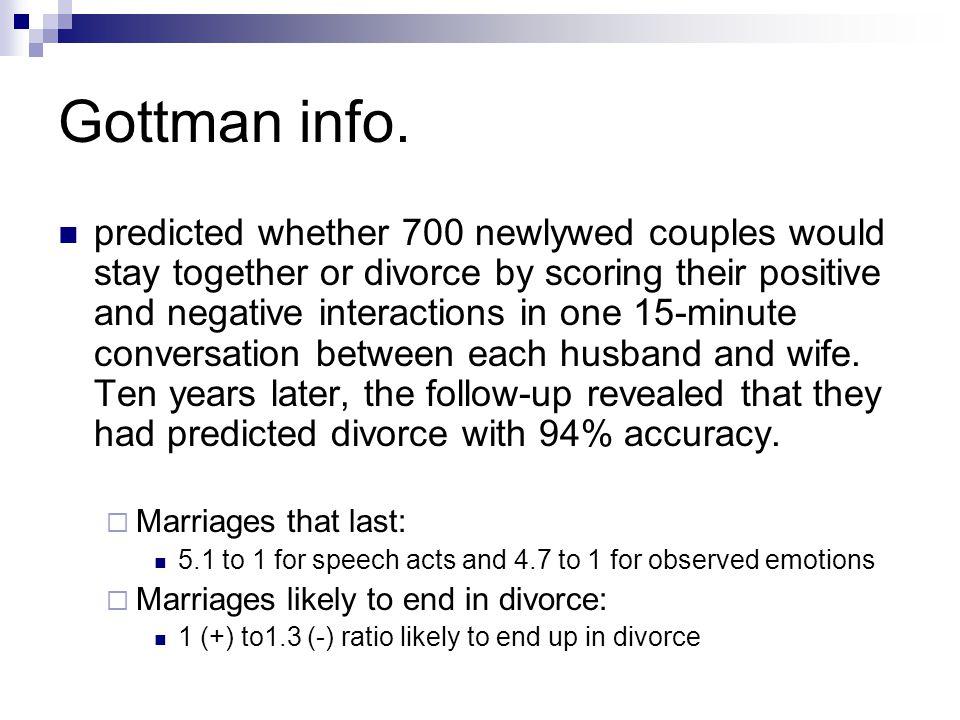 Gottman info.