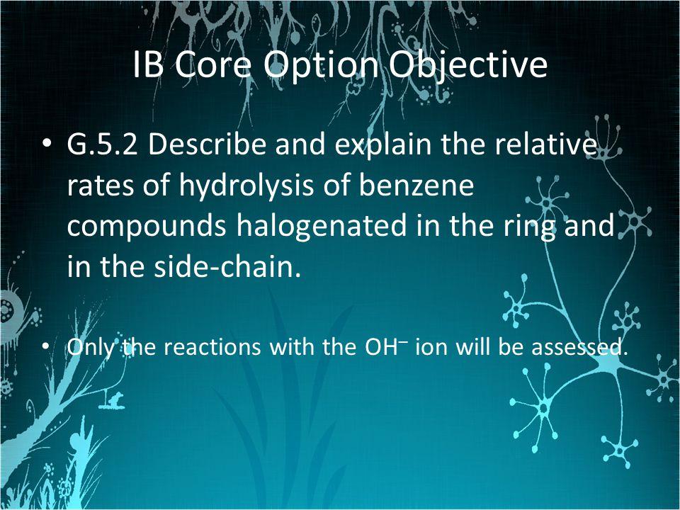 IB Core Option Objective