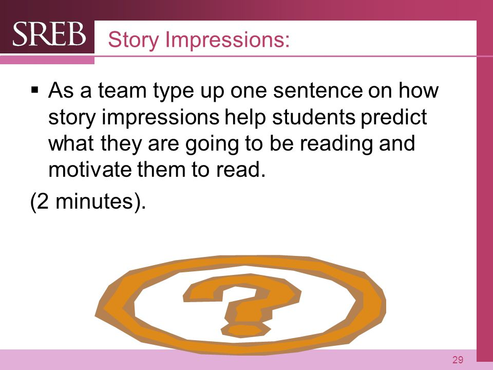 Story Impressions: