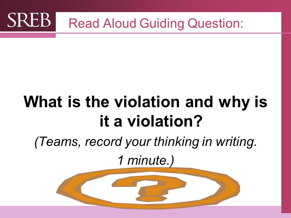 Read Aloud Guiding Question: