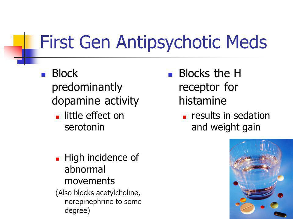 First Gen Antipsychotic Meds