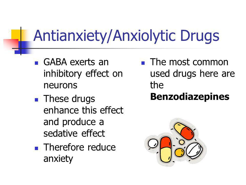 Antianxiety/Anxiolytic Drugs