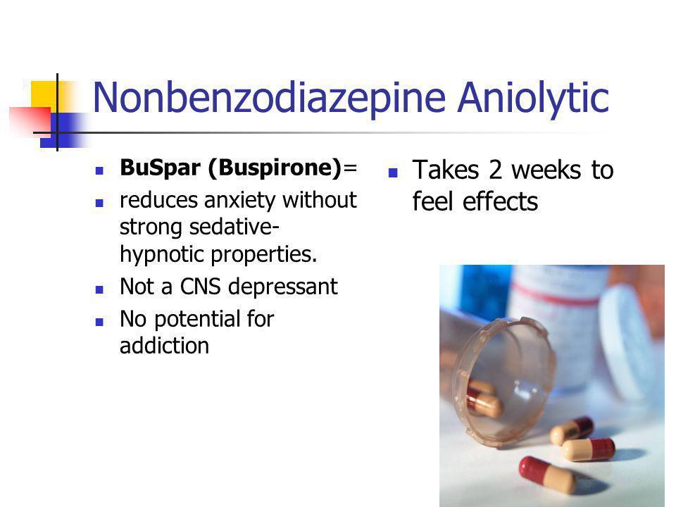 Nonbenzodiazepine Aniolytic