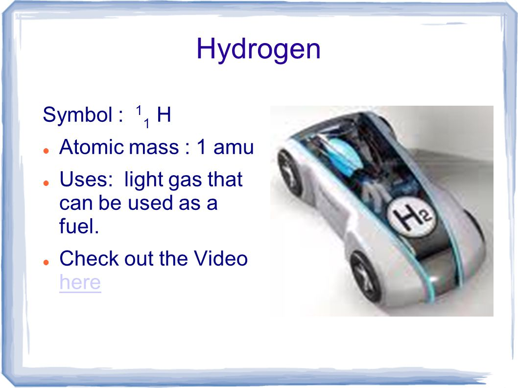 Unit ii chemistry in this unit we will discuss the elements of 3 hydrogen symbol gamestrikefo Choice Image