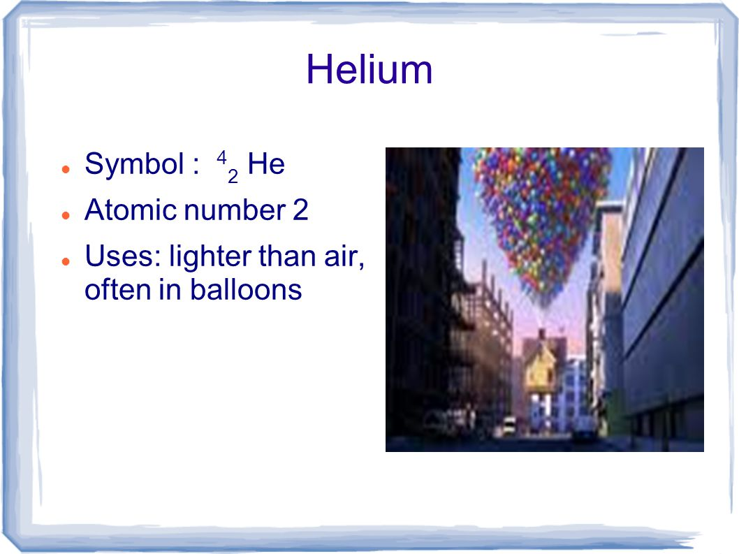 Unit ii chemistry in this unit we will discuss the elements of 4 helium buycottarizona