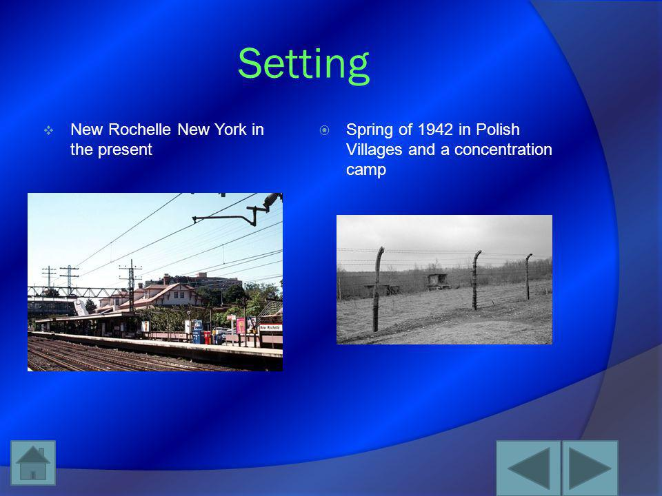 Setting New Rochelle New York in the present