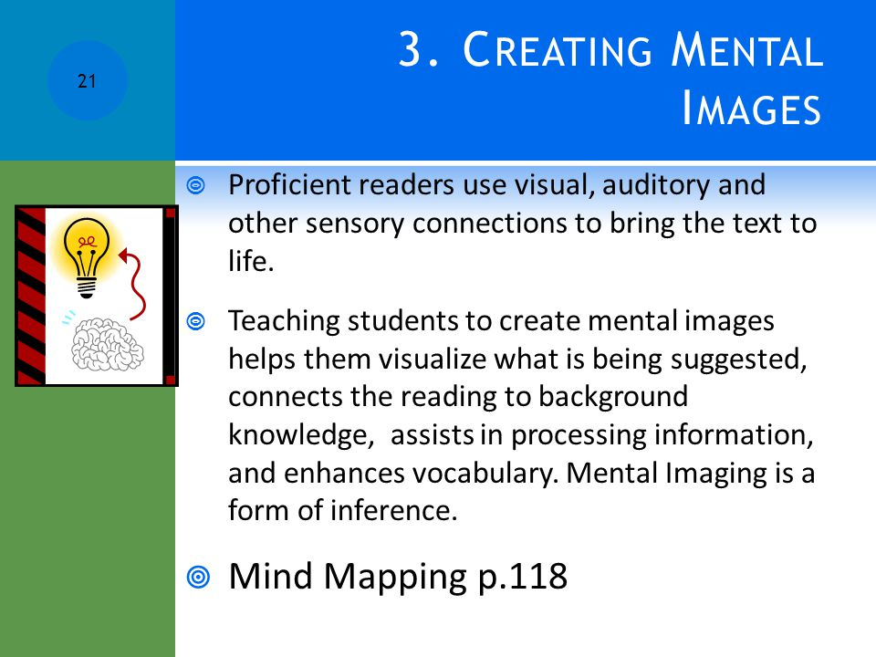 3. Creating Mental Images