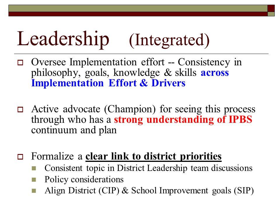 Leadership (Integrated)