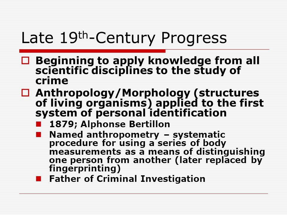 Late 19th-Century Progress