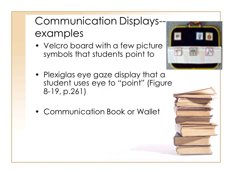 Communication Displays--examples