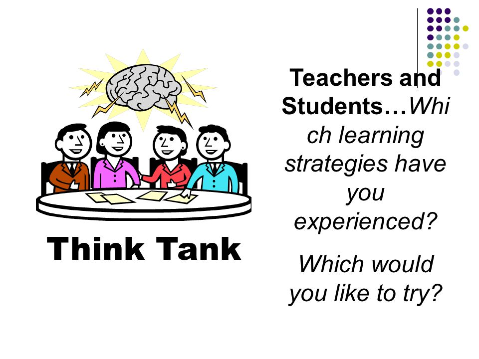 Teachers and Students…Which learning strategies have you experienced