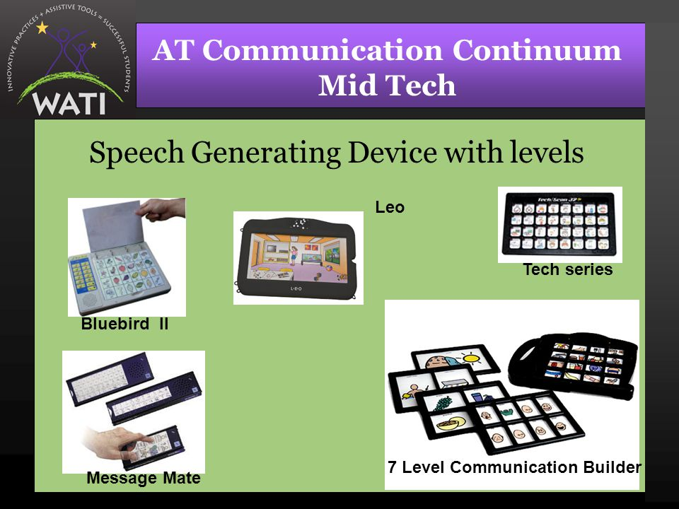 AT Communication Continuum Mid Tech