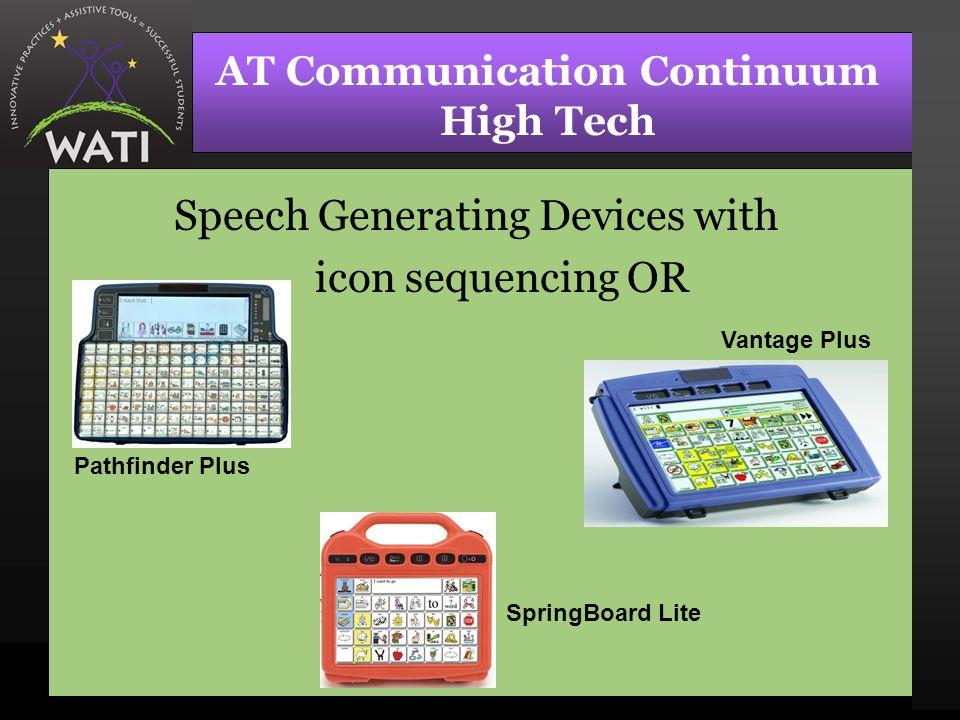 AT Communication Continuum High Tech