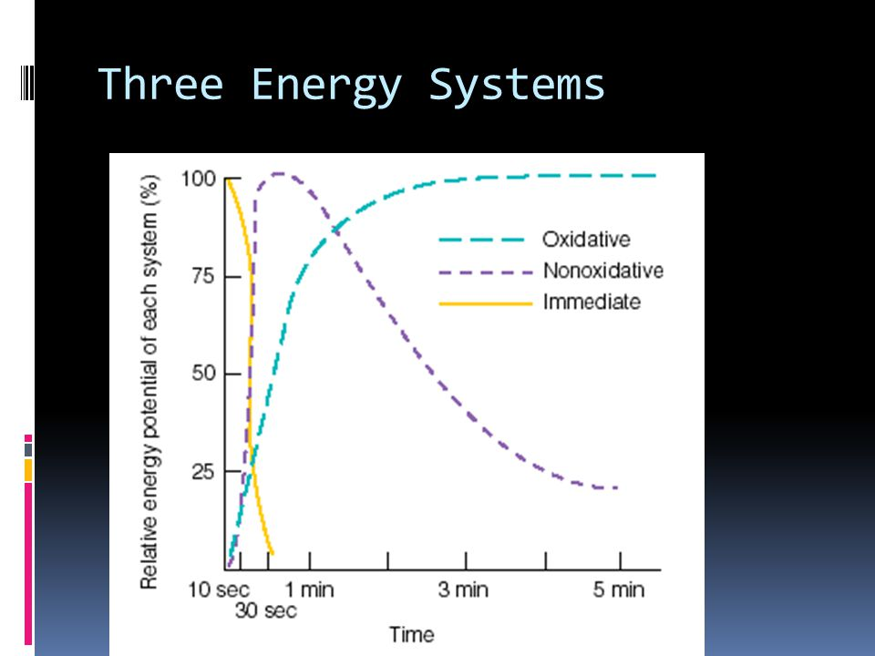 Three Energy Systems