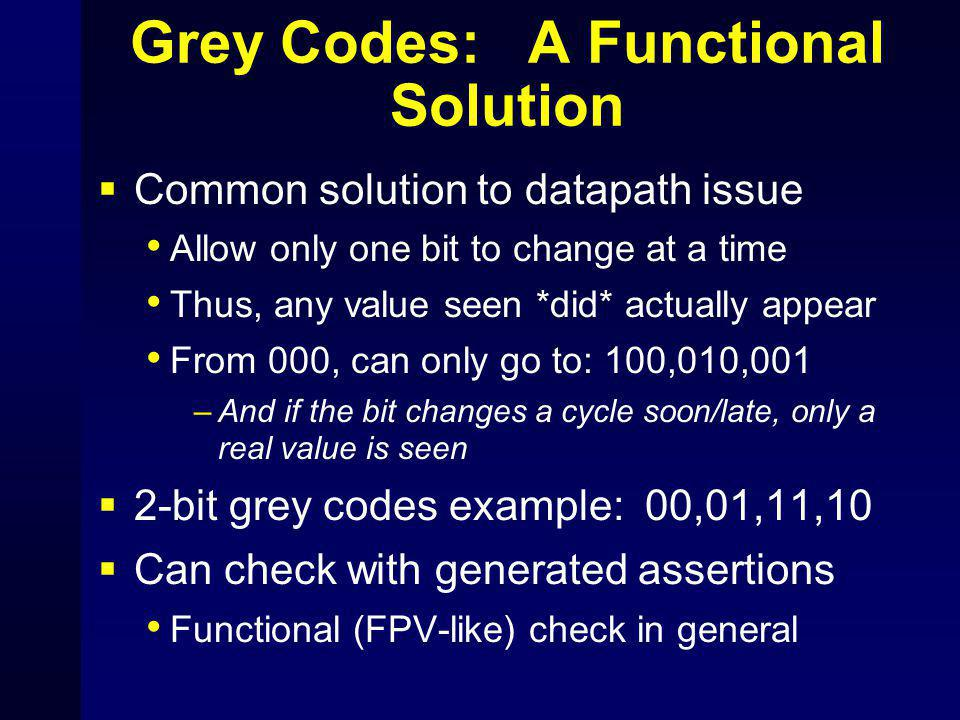 Grey Codes: A Functional Solution