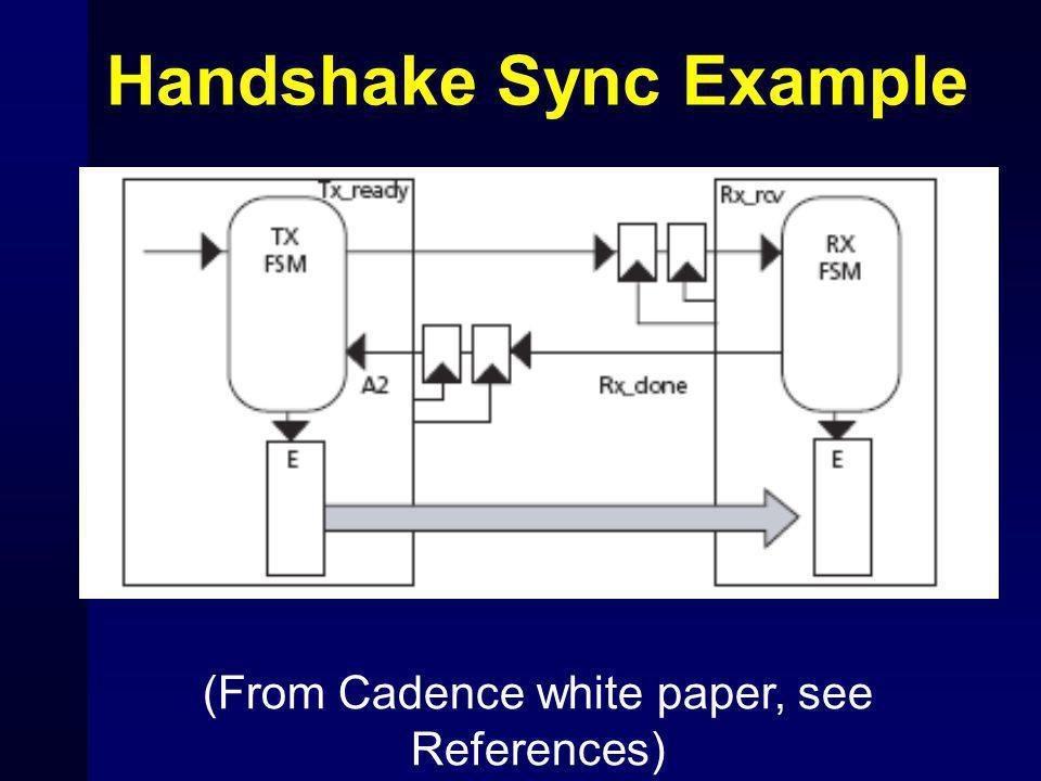 Handshake Sync Example