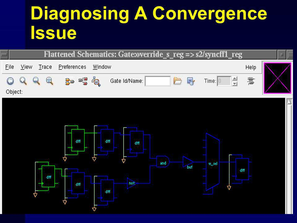 Diagnosing A Convergence Issue