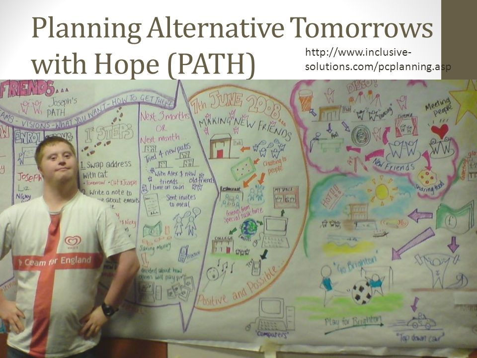 Planning Alternative Tomorrows with Hope (PATH)