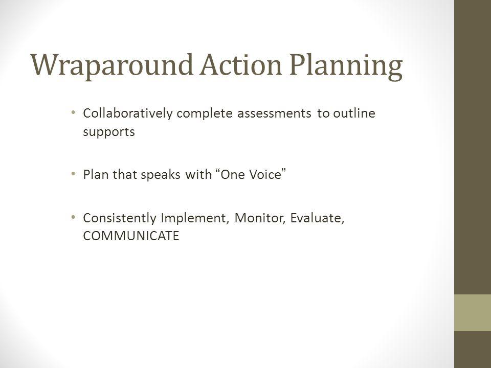 Wraparound Action Planning