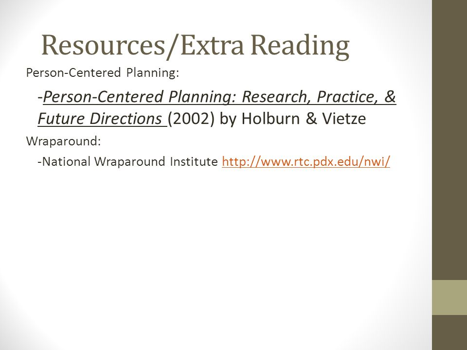Resources/Extra Reading