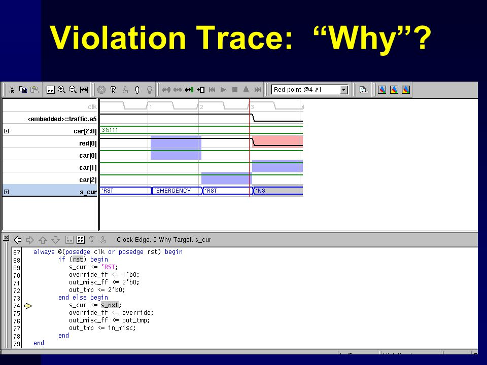 Violation Trace: Why