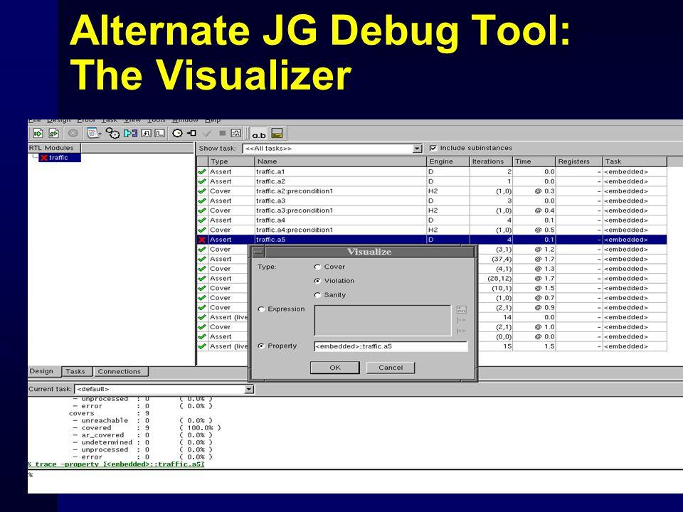Alternate JG Debug Tool: The Visualizer