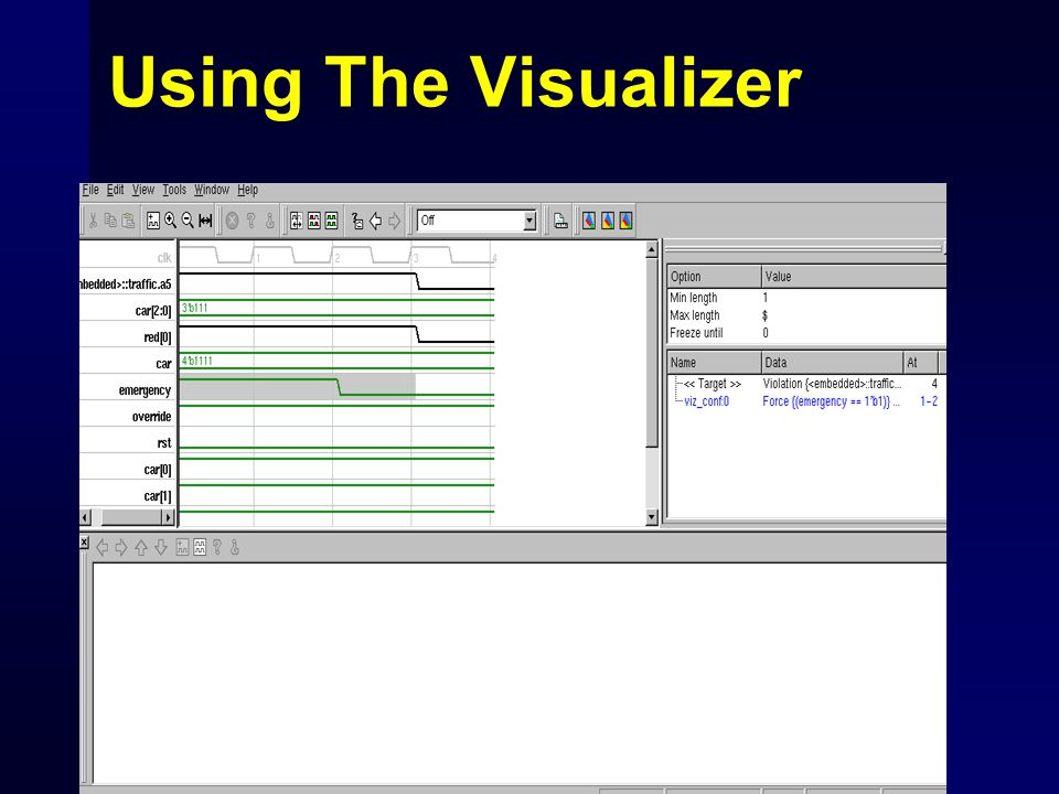 Using The Visualizer
