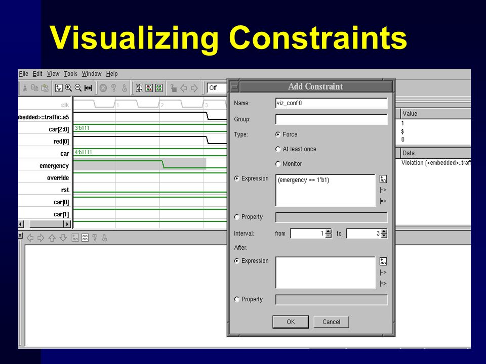 Visualizing Constraints