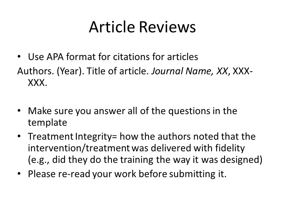 How to Write an Executive Summary in APA Style