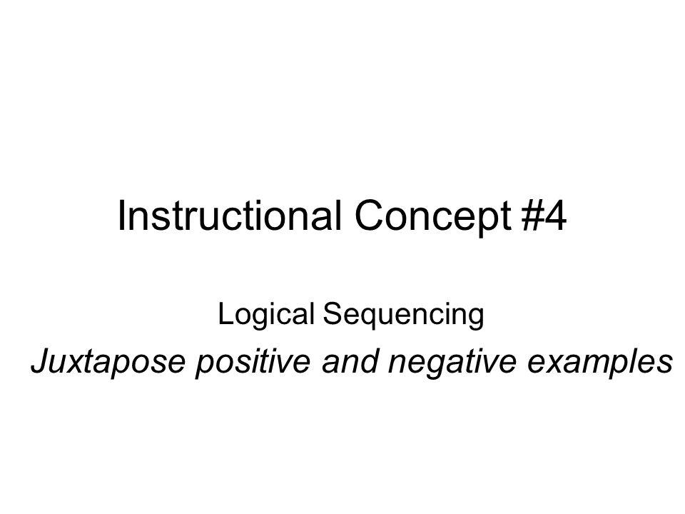 Instructional Concept #4