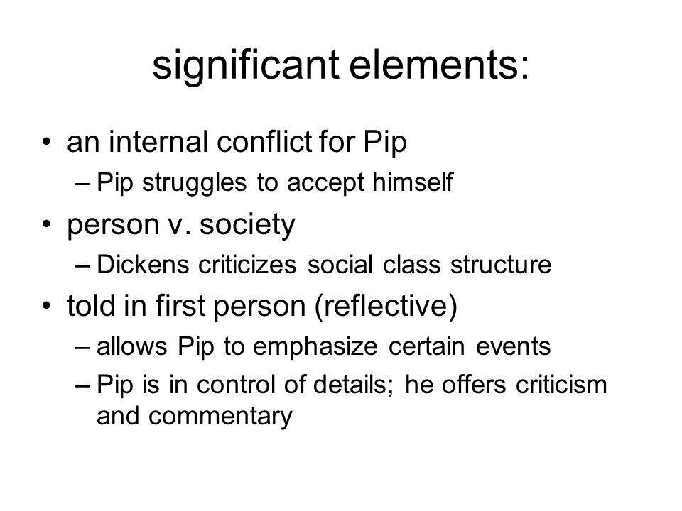 significant elements: