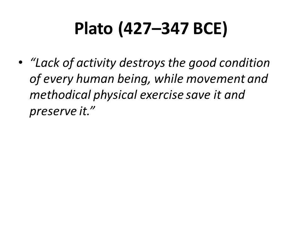 Plato (427–347 BCE)