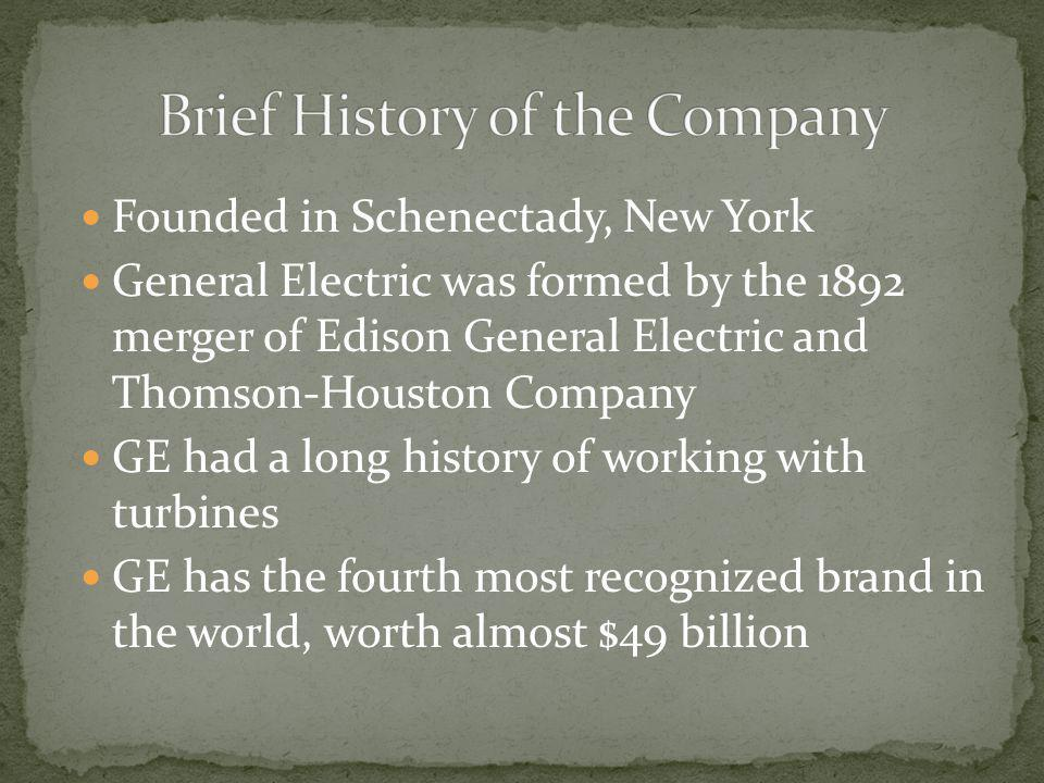 Brief History of the Company