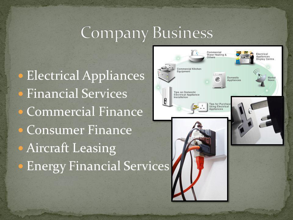 Company Business Electrical Appliances Financial Services