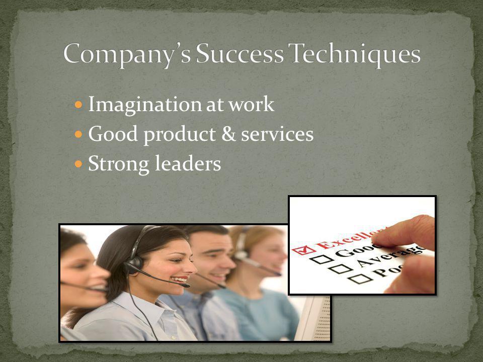 Company's Success Techniques