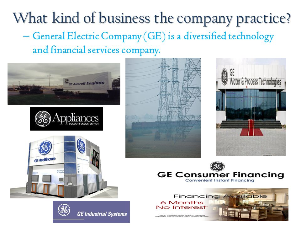 What kind of business the company practice