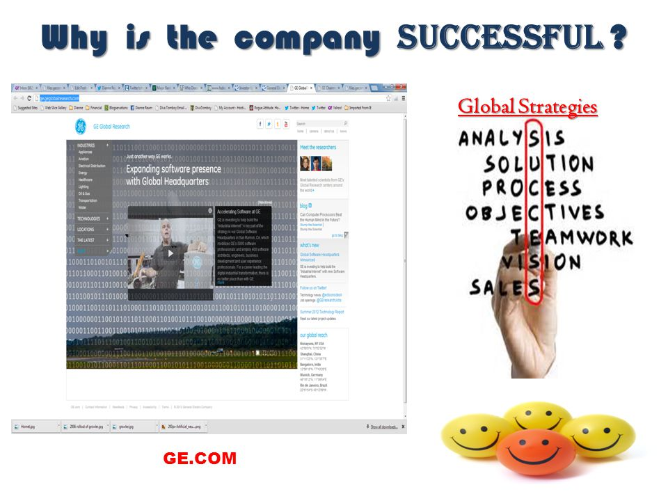 Why is the company successful