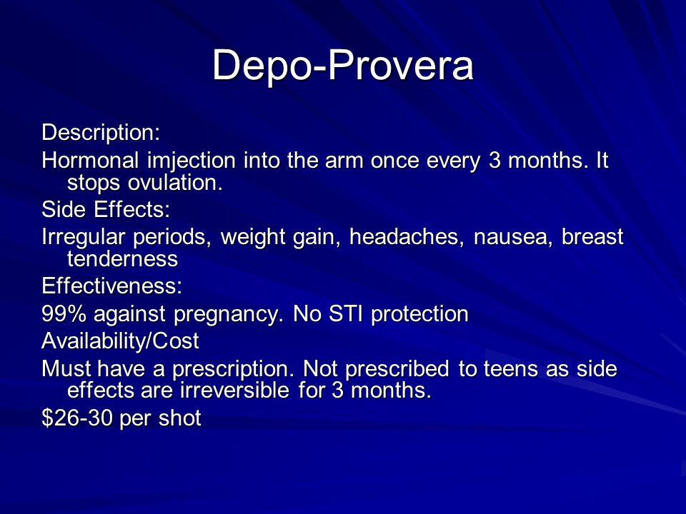 Depo-Provera Description: