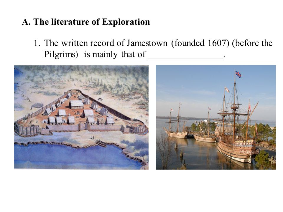A. The literature of Exploration
