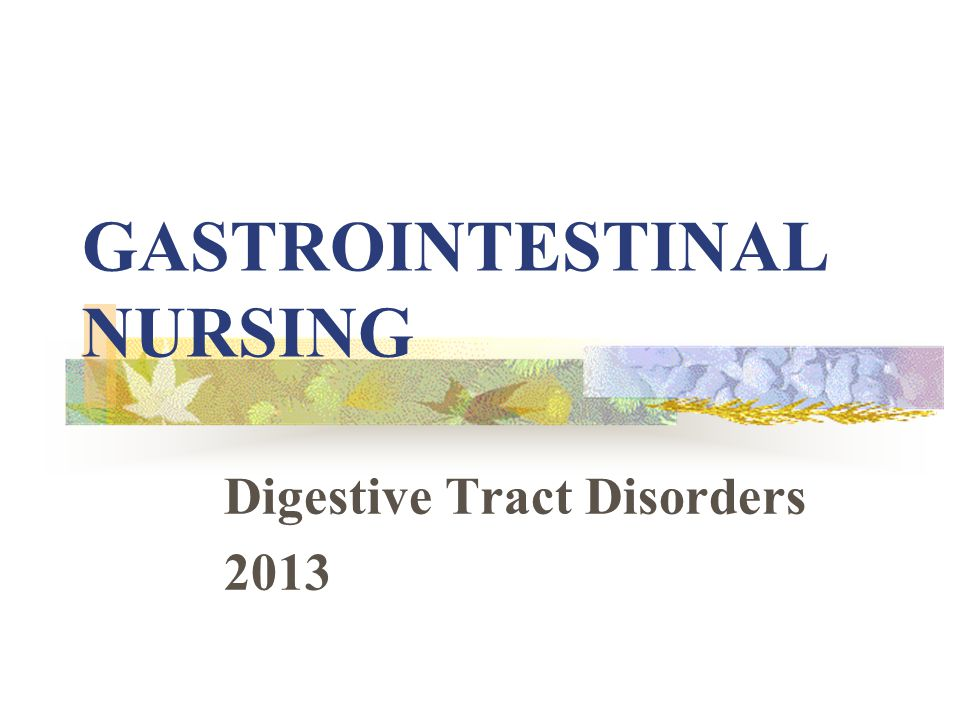 6th National Gastrointestinal Nursing Conference