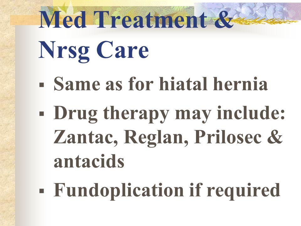 Med Treatment & Nrsg Care
