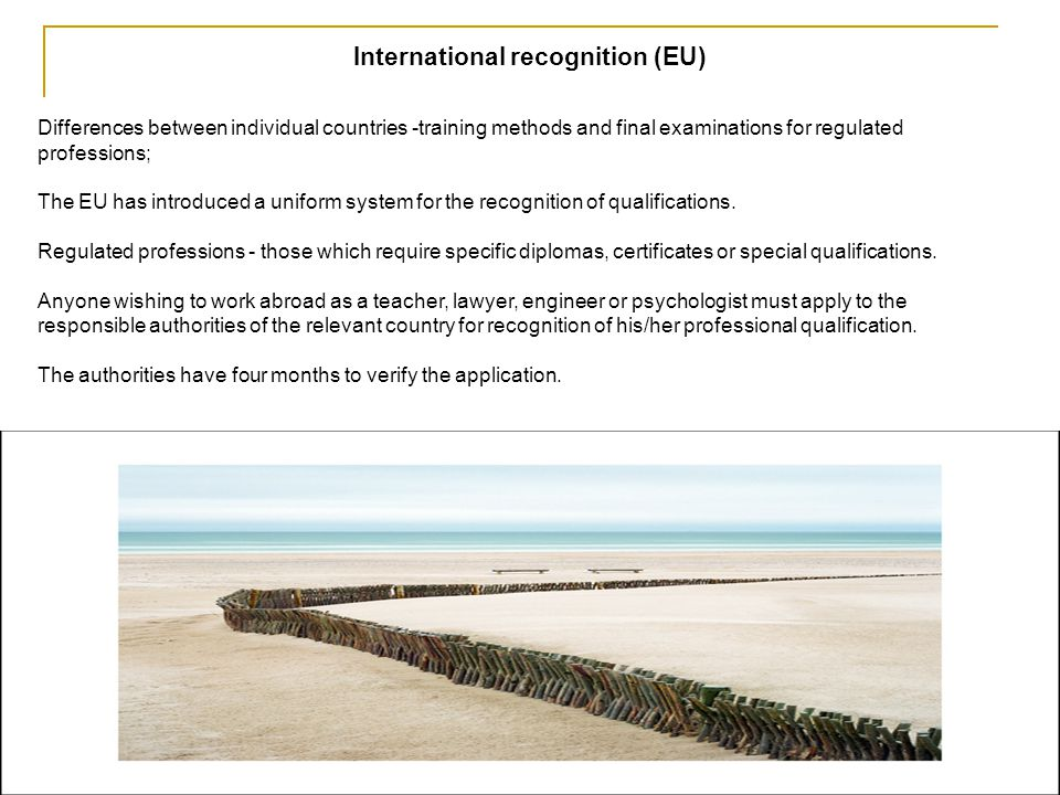 International recognition (EU)