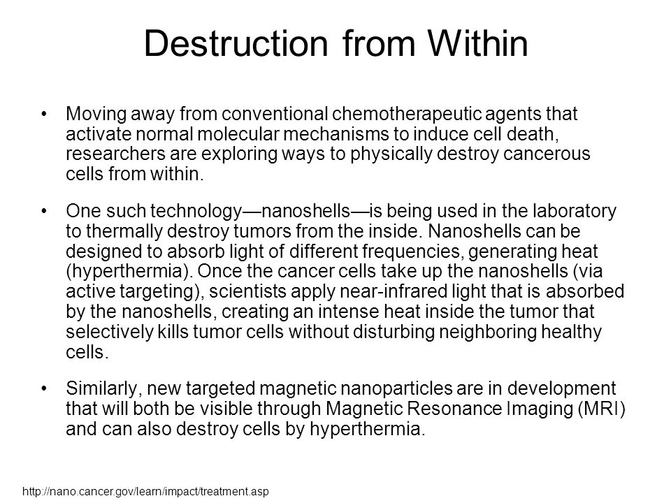 Destruction from Within