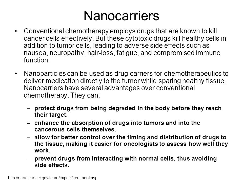Nanocarriers
