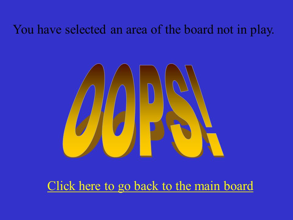Click here to go back to the main board